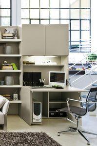 meuble d 39 ordinateur home rangement pinterest ordinateurs meubles et bureau cach. Black Bedroom Furniture Sets. Home Design Ideas