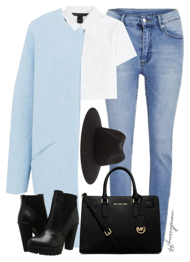 """""""You're Ripped At Every Edge But You're A Masterpiece"""" by avonsblessing94 ❤ liked on Polyvore featuring Cheap Monday, Marc by Marc Jacobs, Hallhuber, MICHAEL Michael Kors, Steve Madden and rag & bone"""