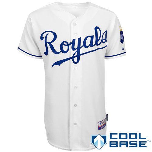 f68e59f981b Kansas City Royals Authentic Home Jersey - MLB.com Shop