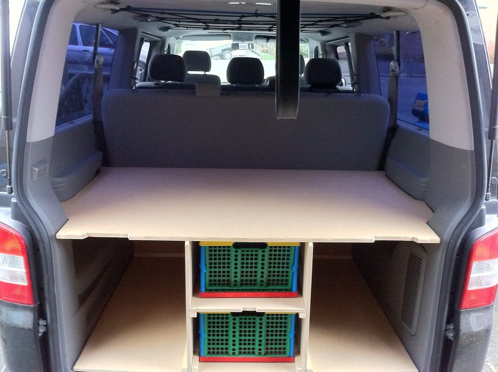 Storage Bed Van Bed Design Ideas Camper Beds Van