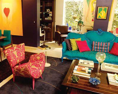 Decoración de Salas Vintage Ideas para decorar, diseñar y mejorar