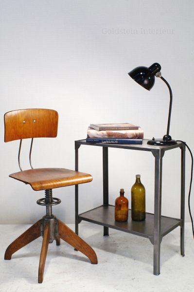 rowac furniture lighting bauhaus style rare industrial antiques rowac robert wagner. Black Bedroom Furniture Sets. Home Design Ideas