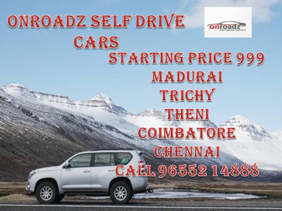 Self Driving Car Rental in Trichy and Coimbatore in 2020