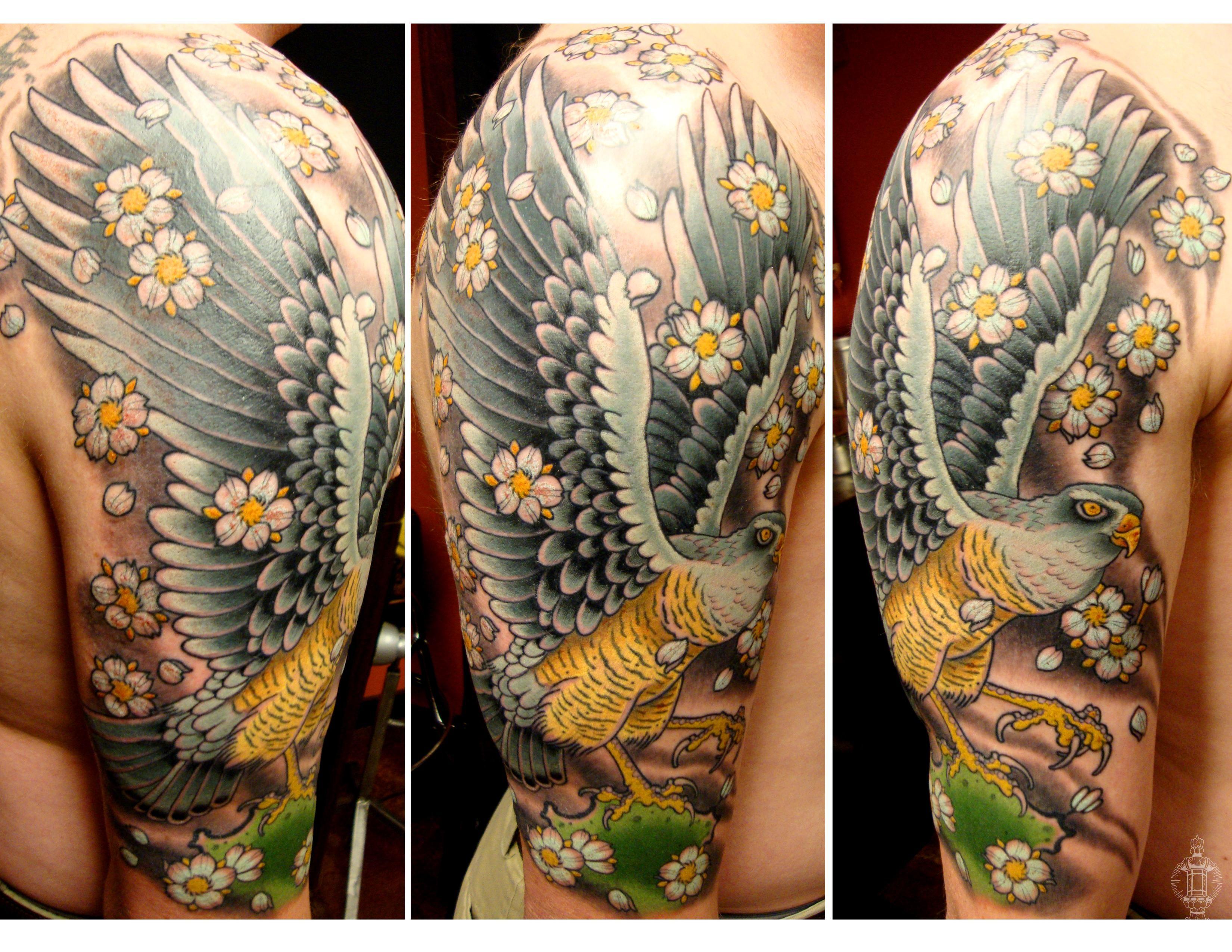 Falcon tattoo design - photo#28