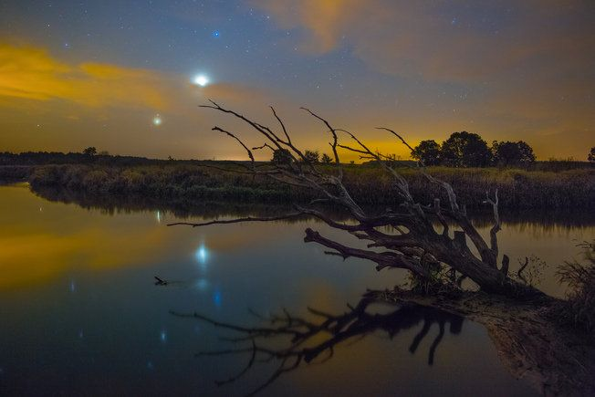 Злучэнне планет над Нёманам ФОТАФАКТ — Наша Ніва. Belarus landscape. River Neman