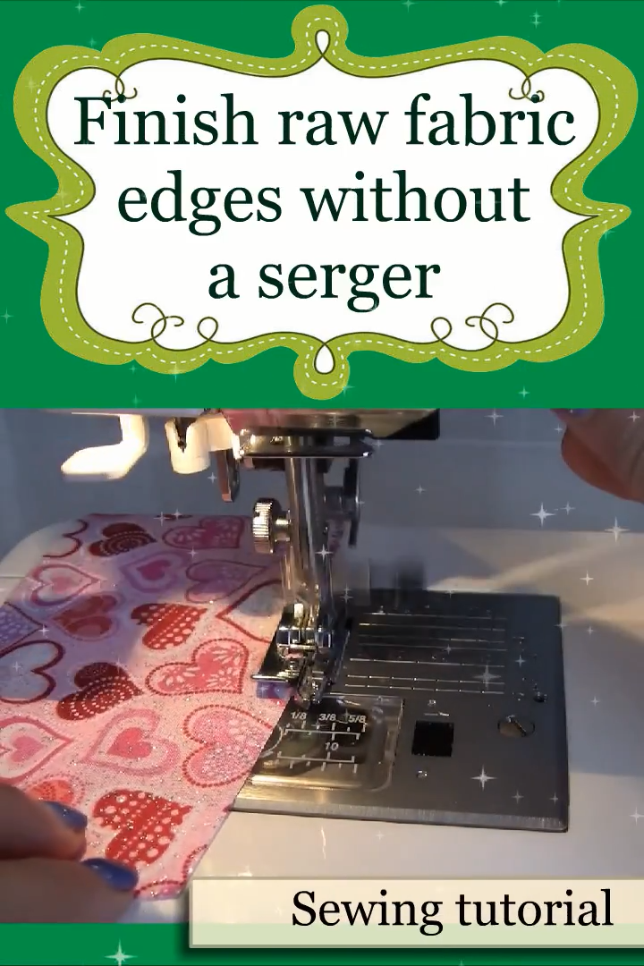 How to use overcast presser feet to make overcasting stitches #sewinghacksvideos