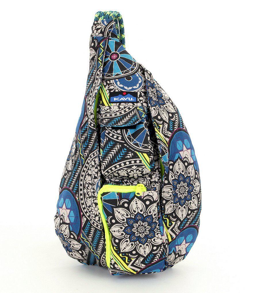 18dacff6e6 Hodgepodge Kavu Printed Rope Messenger Bag