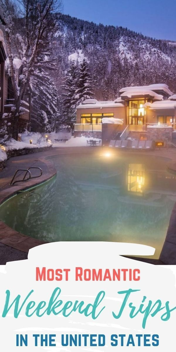 With Valentine's Day just around the corner, tell your sweetheart you love them by booking a weekend stay at one of these amazing resorts.  Whether it be a mountain lodge, relaxing on the beach, or a luxury spa retreat - this list has it all! #thewanderlustcouple #couples #romantic #couplesgetaway #weekendgetaway #weekend #vacation #couplestrip