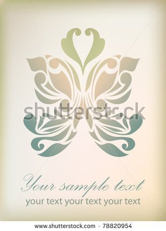 Retro Floral Background For Valentine Day With Your Text As Sign Symbol Icon Tattoo Web Label Logo Emblem Vector Floral Background Retro Floral Floral