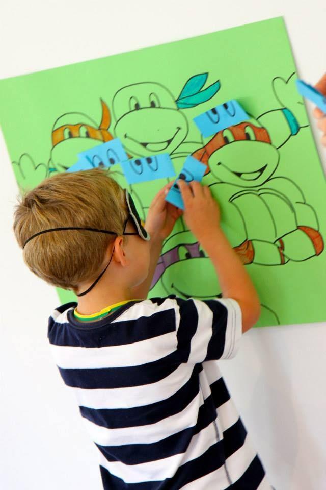 Pin By Chris Robinson On Ninja Turtle Party Ninja Turtles Birthday Party Teenage Mutant Ninja Turtles Birthday Party Tmnt Party