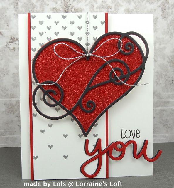 Lorraine S Loft Valentine Day Cards Paper Crafts Cards Valentines Cards