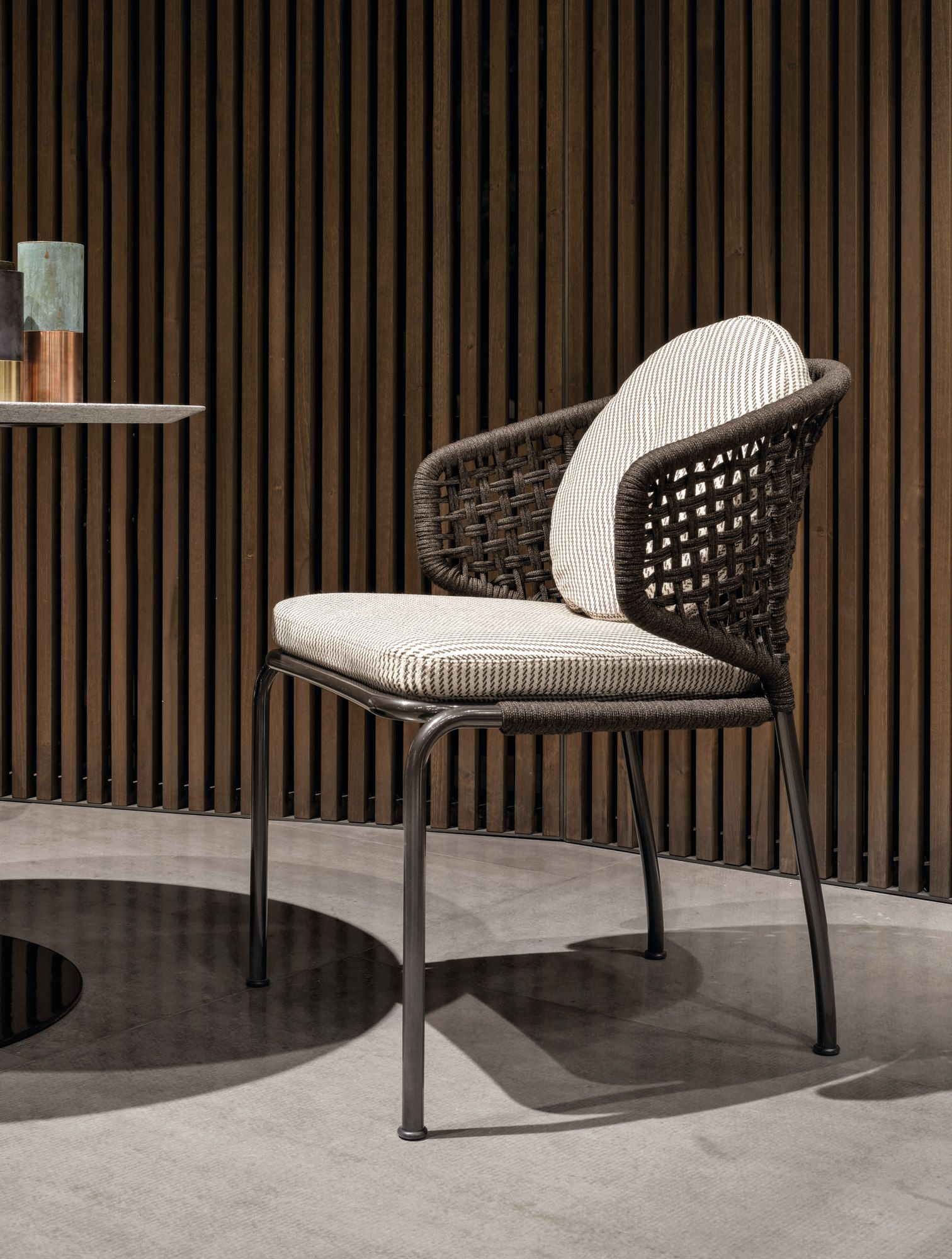 Aston Quot Cord Quot Outdoor Chair By Minotti Design Rodolfo