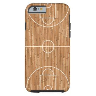 Basketball Court Case Cover iPhone 6 Case by CaseDesign