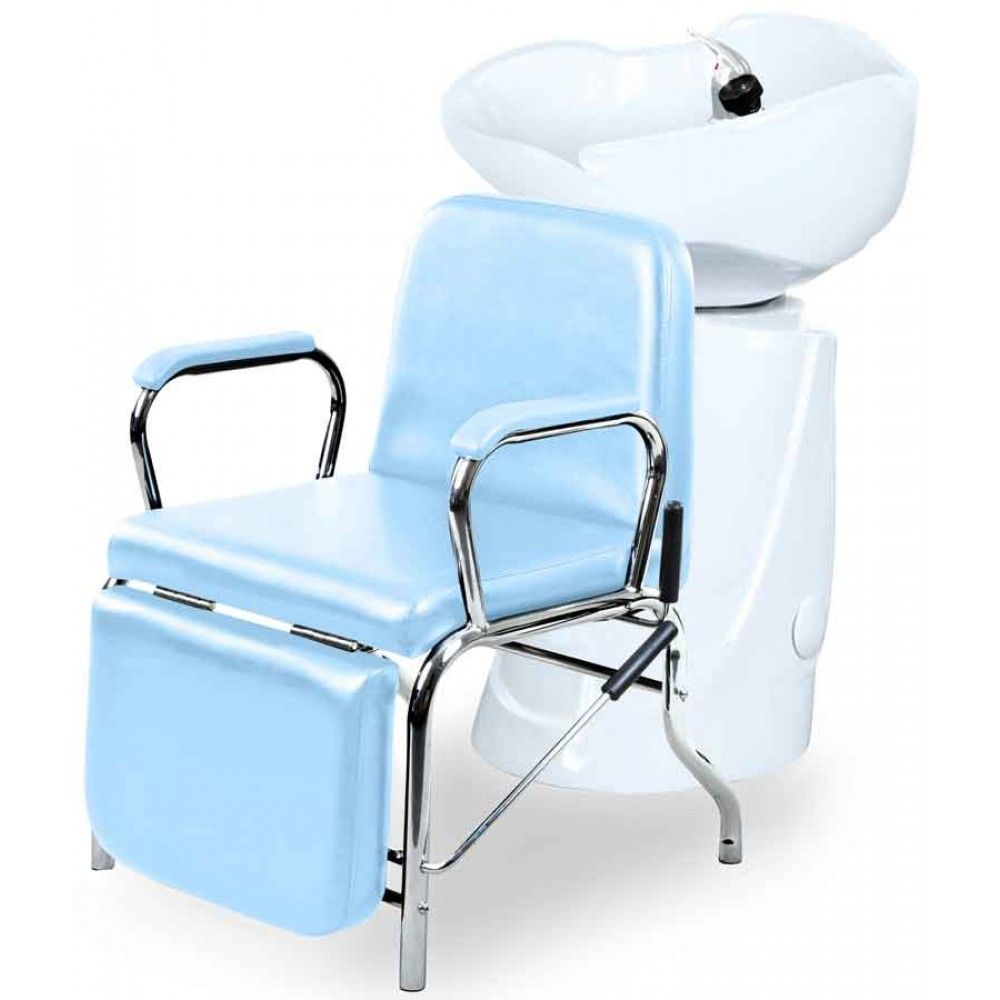 Liger reclining salon shampoo chair backwash unit