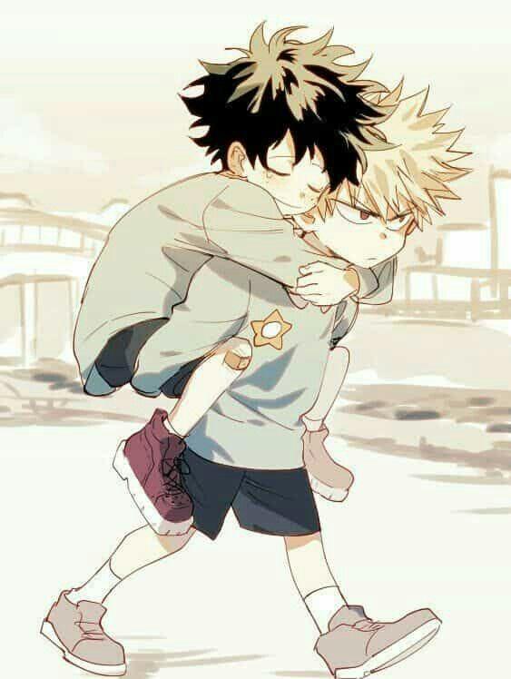 This is too cute Deku, Bakugou, Boku no hero academy
