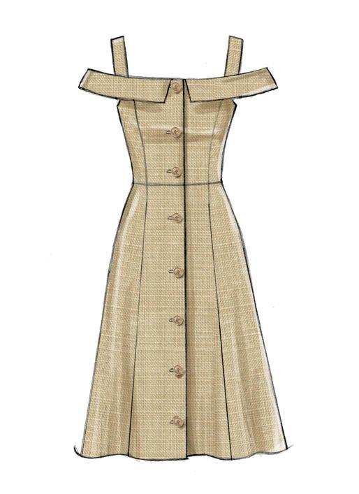 M7805  Misses Dresses Sewing Pattern M7805  Misses Dresses Sewing Pattern