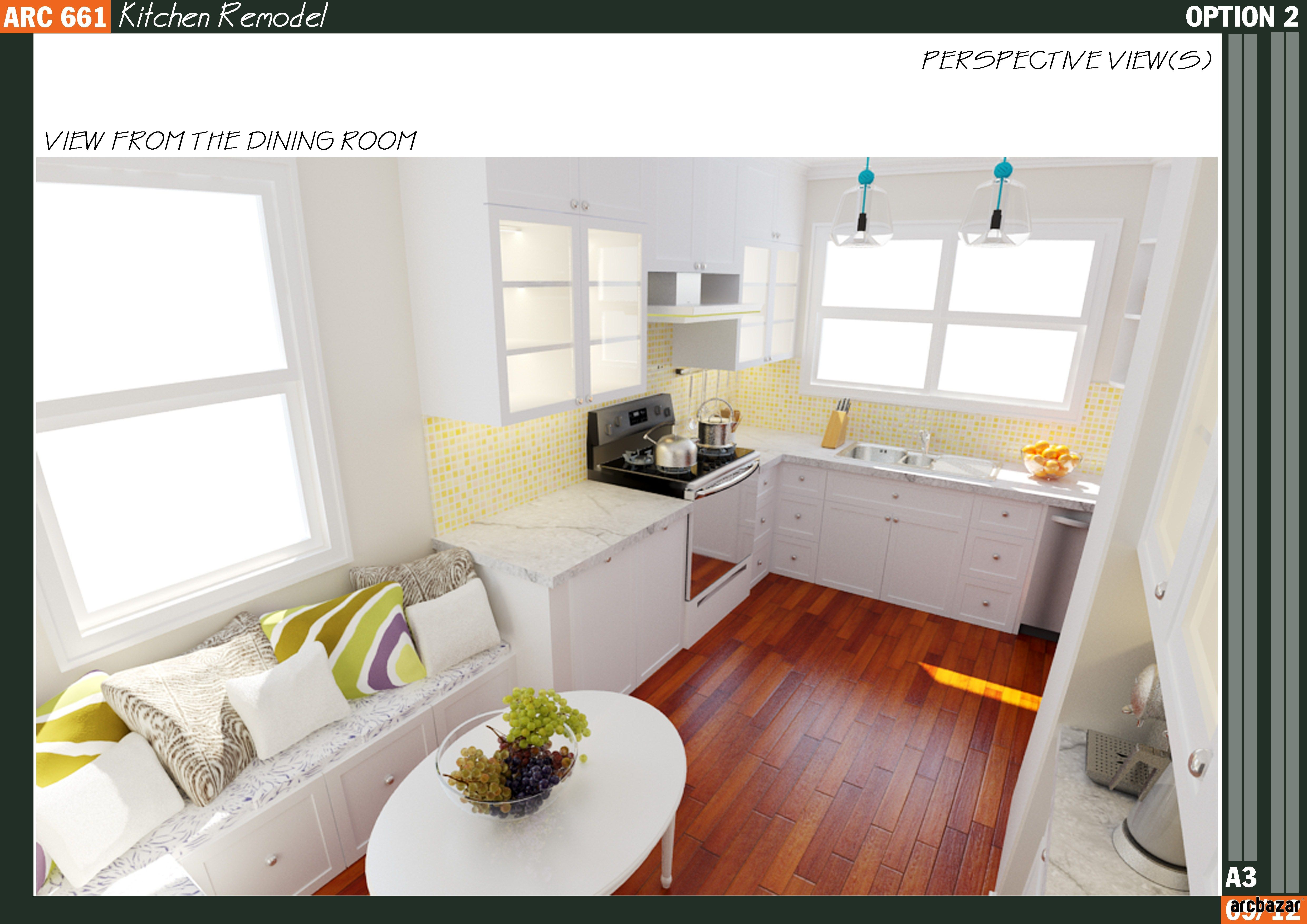 Kitchen Remodel Design By Qarch Team Via Arcbazar.com · Kansas CityKitchen  Remodel
