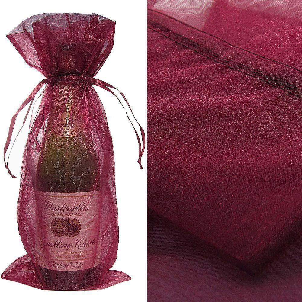 Fabric Wine Bottle Bags