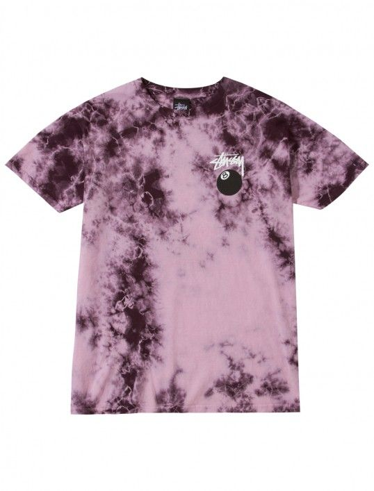 8 Ball Tie Dye Tee #stussy #8ball #tiedye | Tie dye fashion