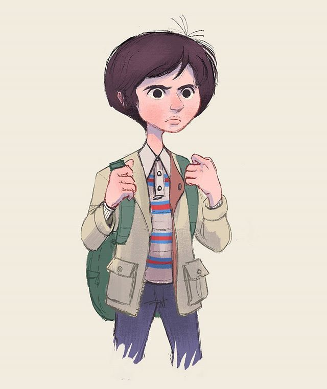 This Time It Is Mike From The Amazing Show Strangerthings On