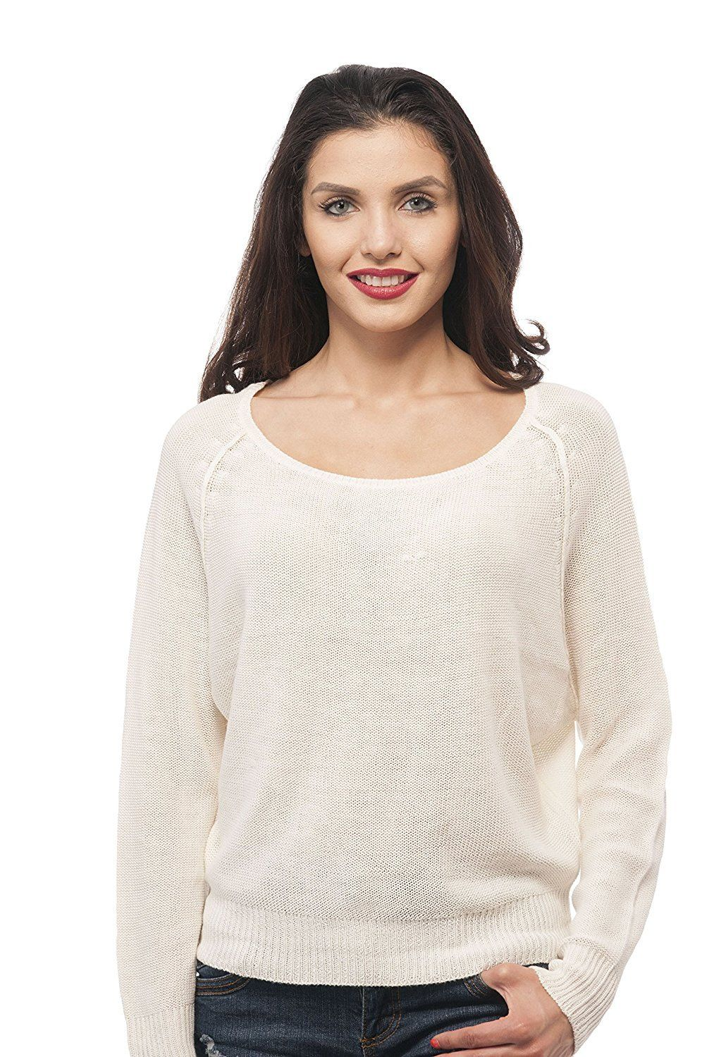 b66bcdbacb61a7 Hollywood Star Fashion Scoop Neck Dolmin Top Sweater | Products ...
