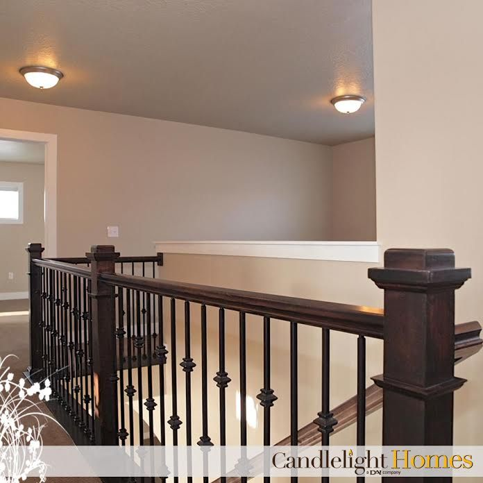 CandlelightHomes.com, Utah, Homebuilder, Staircase, Railing, Candlelight  Homes