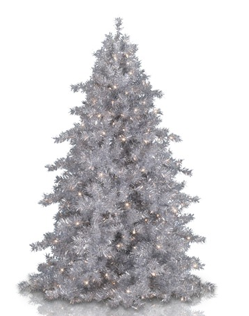 Sale Sparkling Collection Tinkerbell Silver Christmas Tree At Http Www Couponcutoff Com Stor Silver Christmas Tree Silver Tinsel Tree Tinsel Christmas Tree