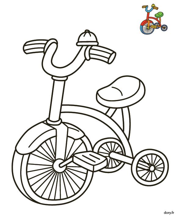 Coloriage A Imprimer Velo.Dessin A Imprimer Un Tricycle Coloriage Velo Tricycle Et