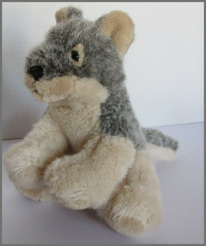 Australian shepherd dog plush soft toy km 2007 small 7 in