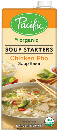 Organic Chicken Pho Soup Base. Pacific Foods have so many