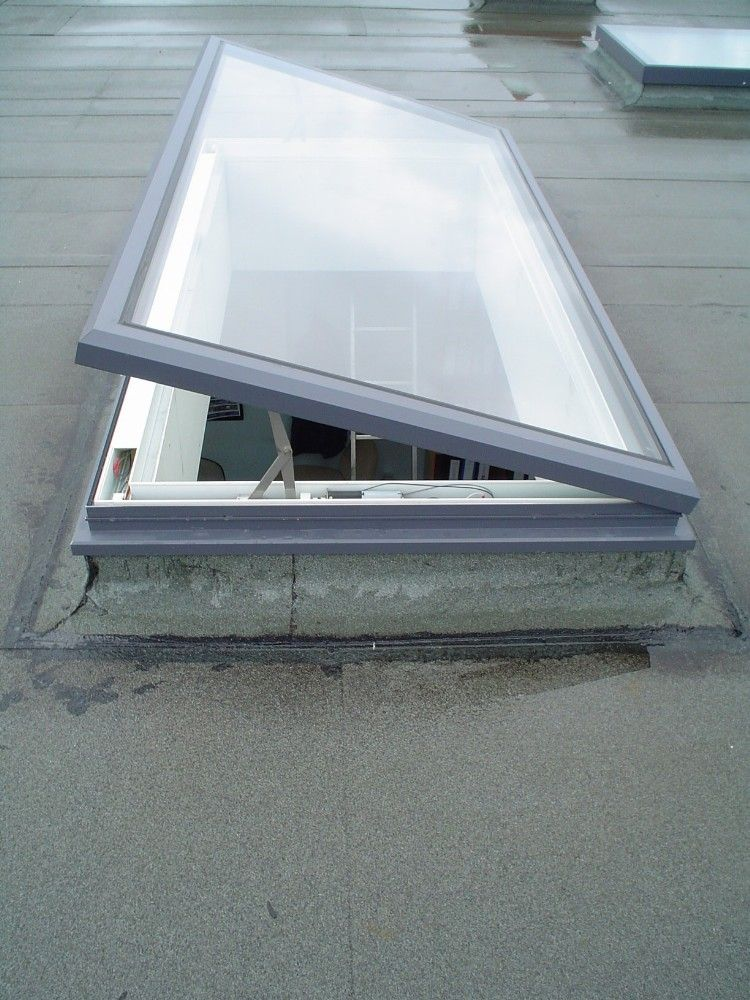 VisionVent Vent Only Rooflight Manual or Electric Flat