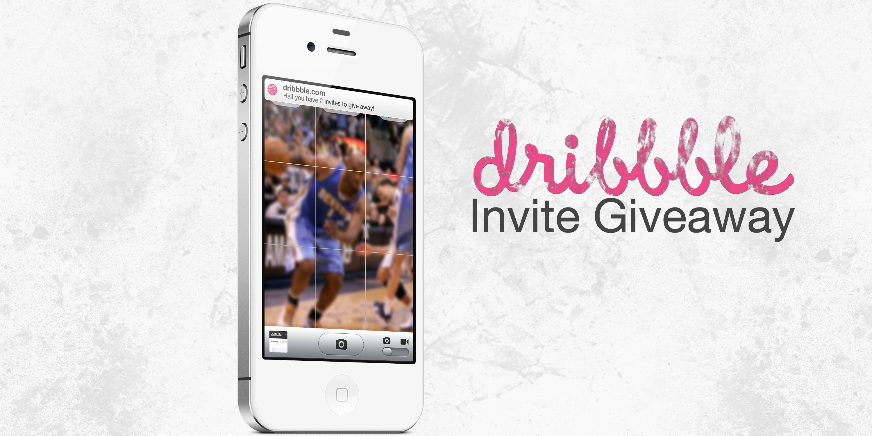 Dribbble dribbbleiphone.png by Donald. ♔ Dribbble