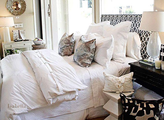 Isabella in Charlotte NC for Fine Bed Linens  Interior Design