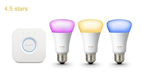 Philips Hue White and Color E27 Ambiance Starter Set Bluetooth 3 Lampen 1 Bridge