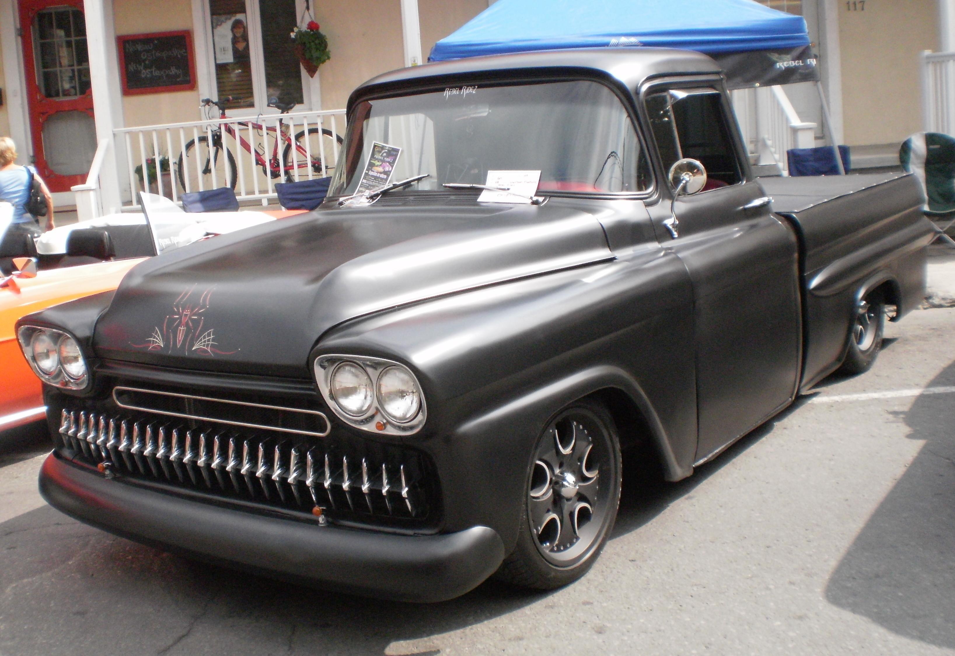 58 59 Chevy Apache Fleetside | Description \'58 Chevrolet Apache ...