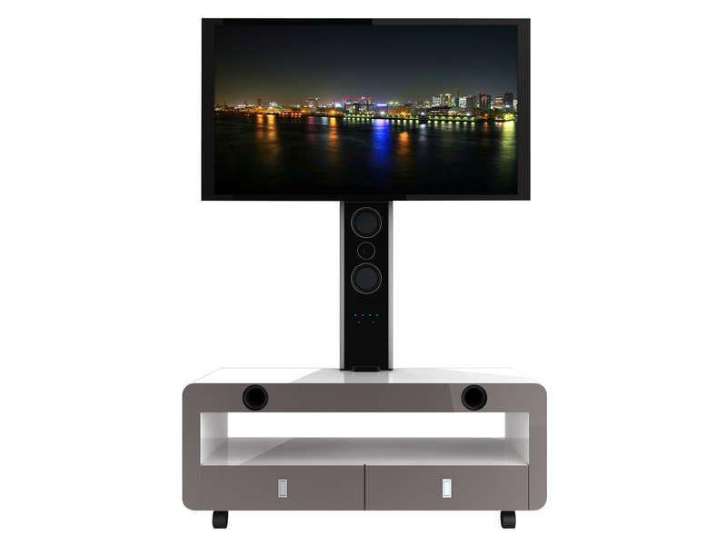 Meuble Tv Nesx Ne4000b Conforama Flat Screen Et Electronics