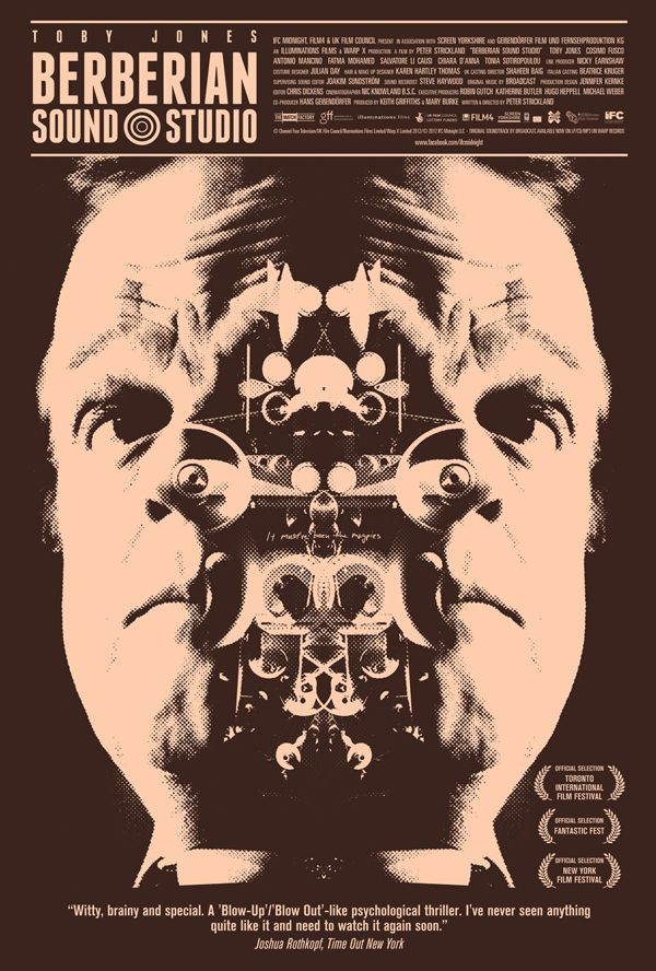 New Official Poster for Berberian Sound Studio