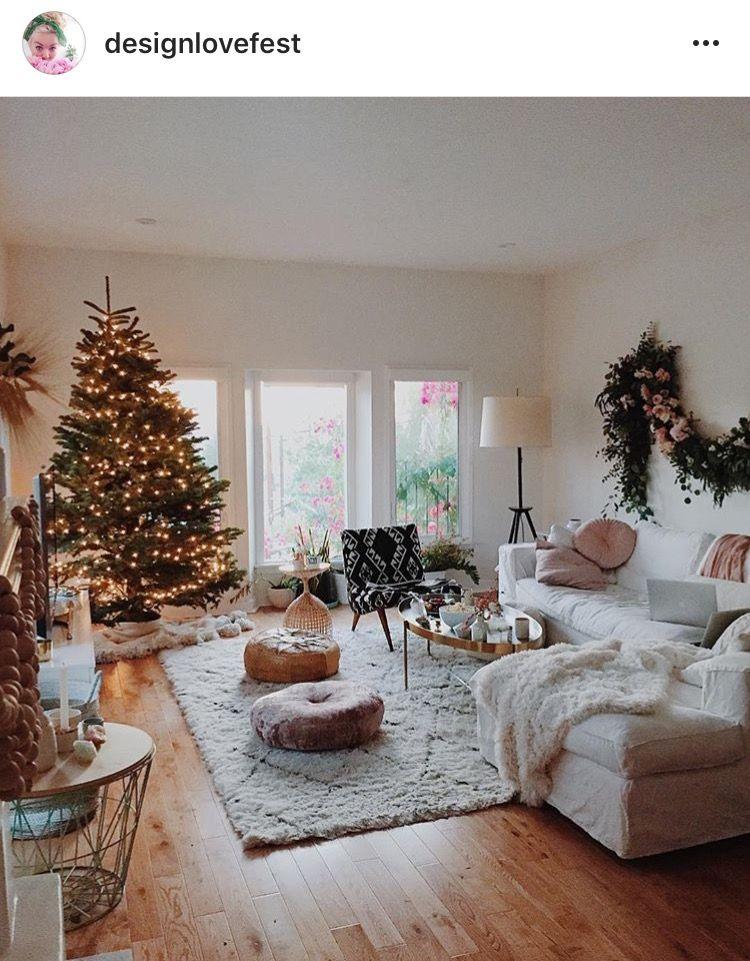 Pinterest Thesidekick Christmas Living Rooms Christmas Home Christmas Decorations Living Room