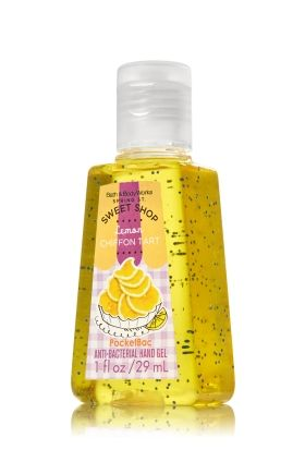 Lemon Chiffon Tart Pocketbac Sanitizing Hand Gel Anti Bacterial