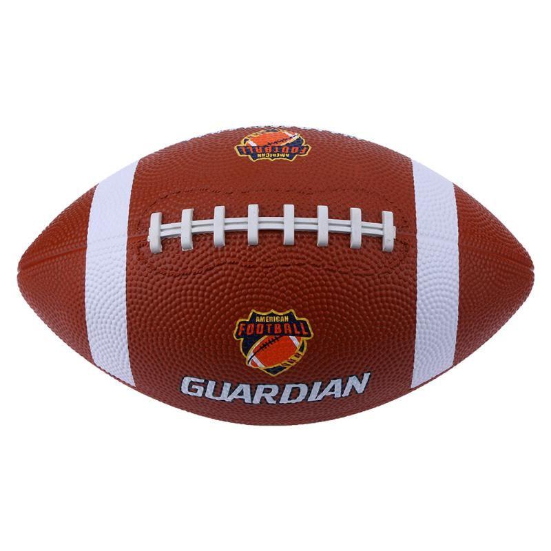 N 9 De Borracha Macia Af9 Bola De Rugby Americano Jogo De Futebol Para Treinamento De Atletas Profissionais American Football Rugby Ball Football