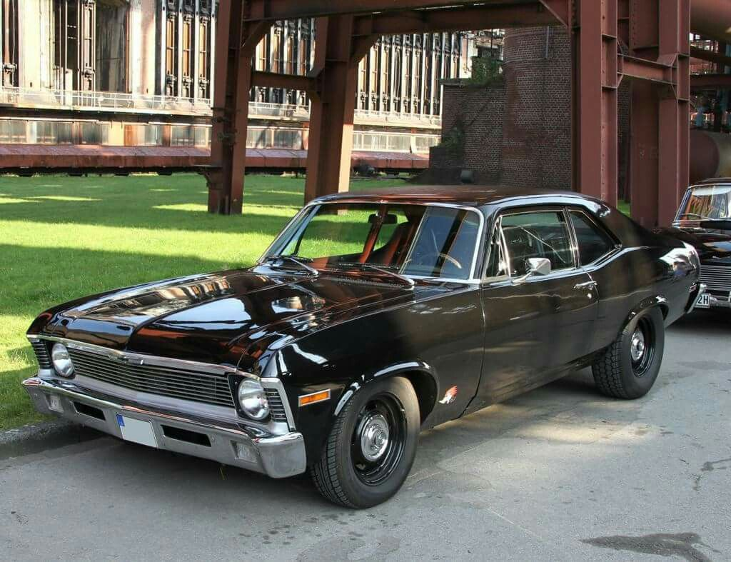 Clean And Simple Really Like This One Chevy Nova Chevrolet Nova Chevy Muscle Cars