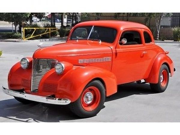 Chevrolet Other 1939 Chevrolet Hot Rod Automatic 2 Door Coupe Classic Cars Trucks Hot Rods Chevrolet