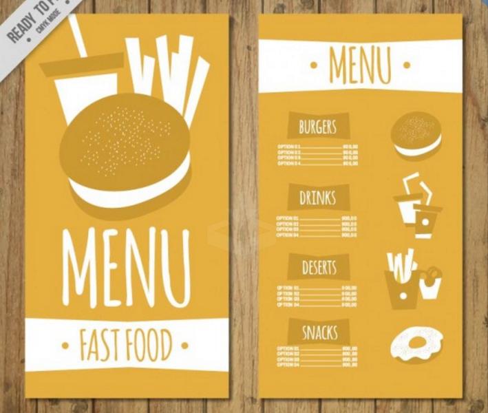 make an online menu