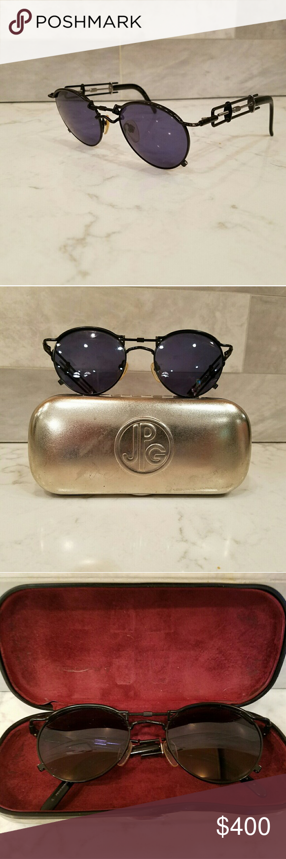 Sunglasses Vintage used Jean Paul Gaultier Accessories Sunglasses