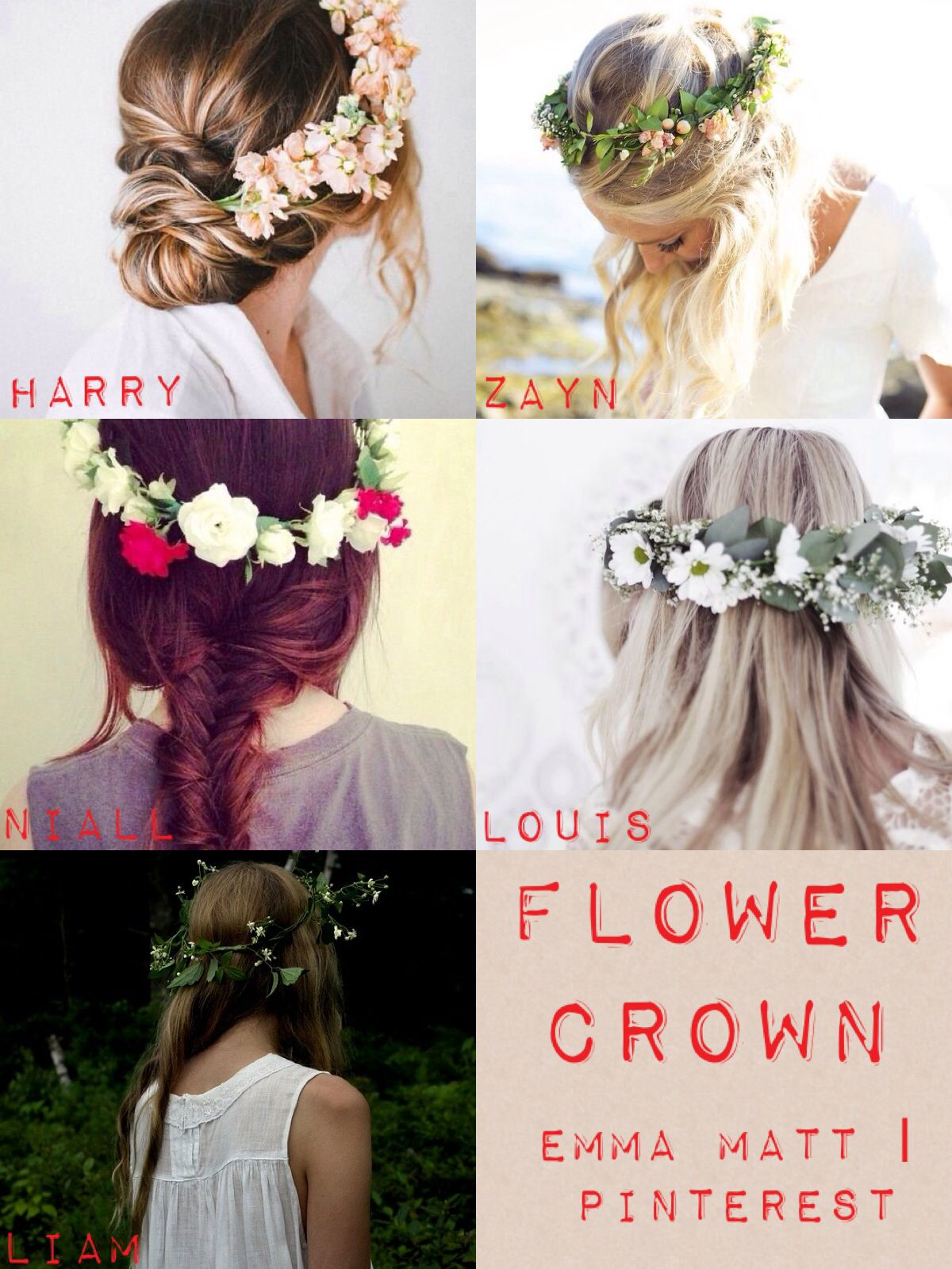 One direction preferences flower crown one direction preferences one direction preferences flower crown izmirmasajfo