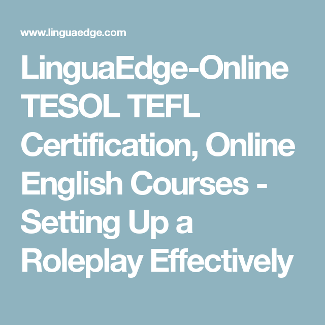 LinguaEdge-Online TESOL TEFL Certification, Online English Courses ...