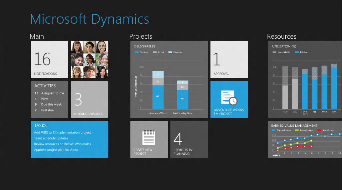 Microsoft shows off Windows 8 business app 'concepts