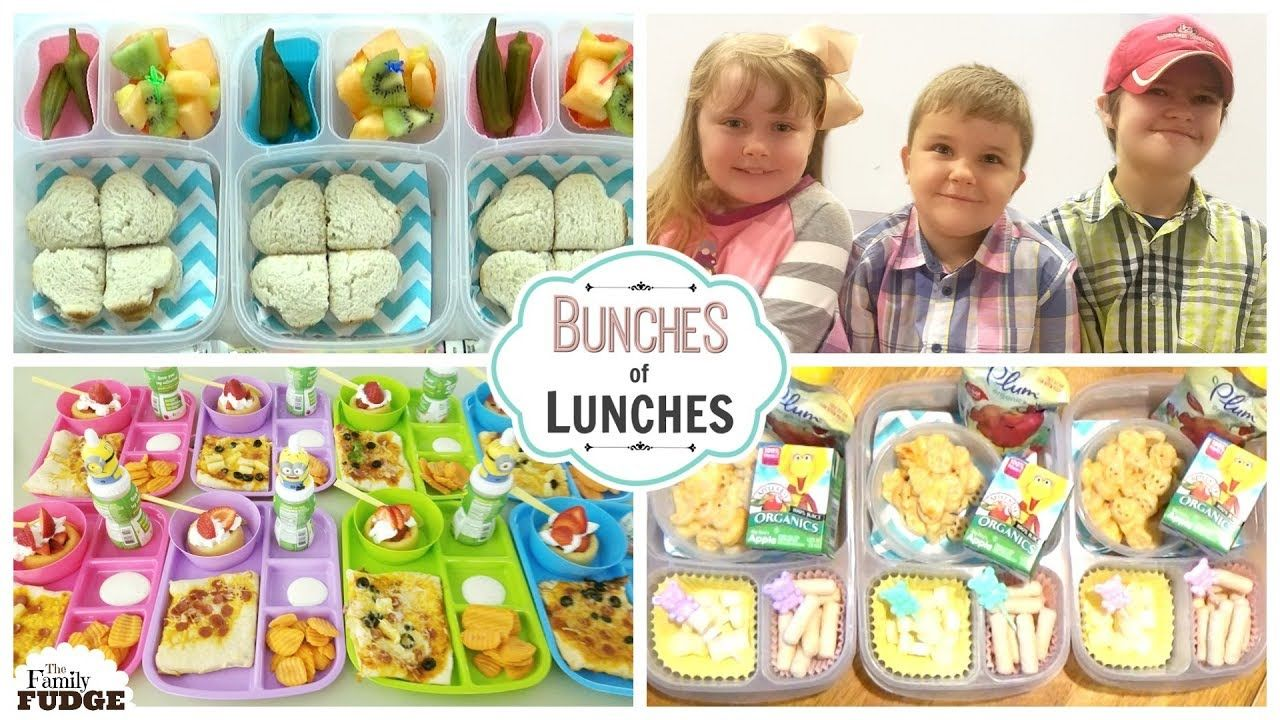 4cf1a46478a0 AWESOME END of SUMMER LUNCHES 🍎 Bunches of Lunches | Bunches of ...