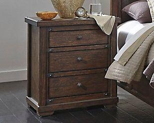 Zenfield Nightstand Dresser As Nightstand Ashley Furniture Homestore