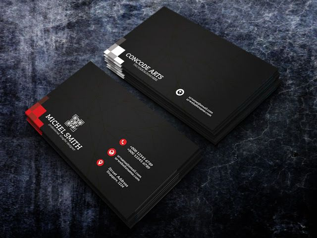 Free download black color professional business cards vol 100 free download black color professional business cards vol 100 professional business card templates fbccfo Gallery